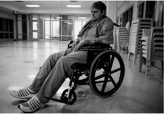 Wheelchair Inmate